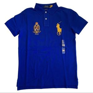 Polo Ralph Lauren Big Pony Custom Slim Fit Shirt